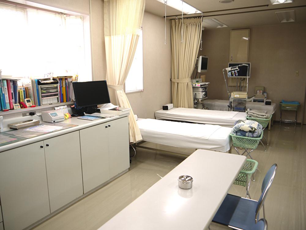 瀬戸内市 長田医院 診察